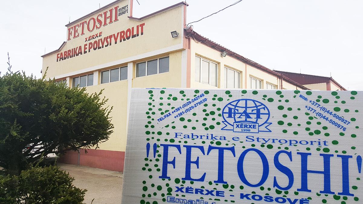 Fetoshi - Fabrika e Styroporit